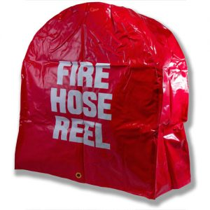 Heavy duty fire hose reel cover