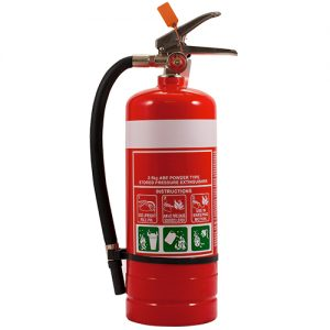 2.5 kg ABE Fire Extinguisher plus vehicle bracket