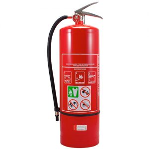 9L AIR/WATER FIRE EXTINGUISHER WITH WALL BRACKET
