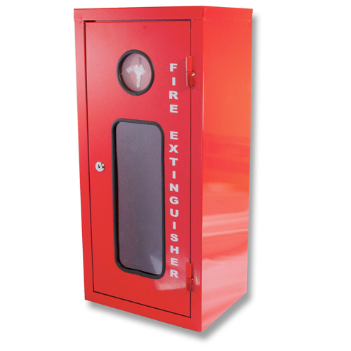 GALVANISED METAL FIRE EXTINGUISHER CABINET – Small 2.5KG