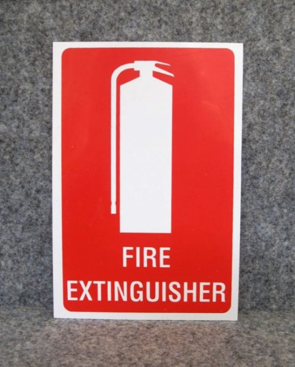 Fire Extinguisher ID Sign