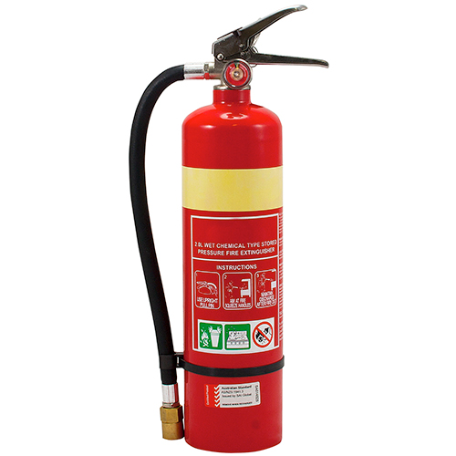 7 litre wet chemical fire extinguisher