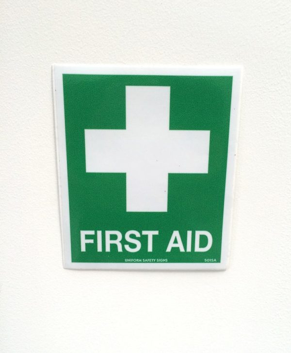 First Aid Sign for Workplace