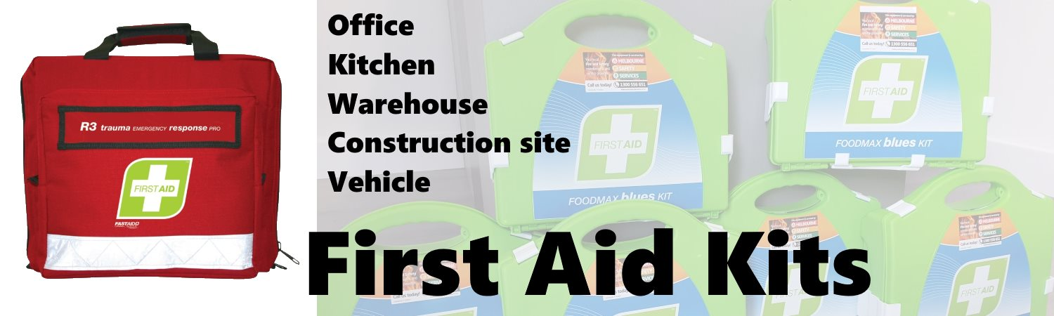 First Aid Kits for all applications