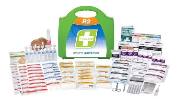 Sports First Aid Kit - Plastic Case