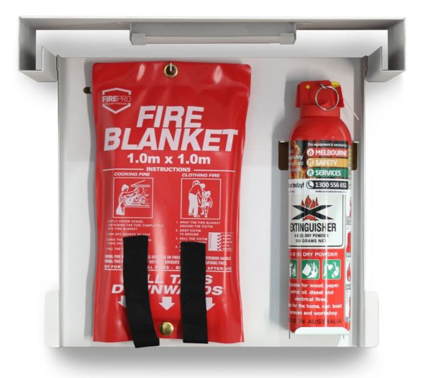 Slim Extinguisher Frame - Open