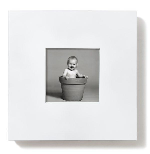 Slim Fire Extinguisher Cabinet -White