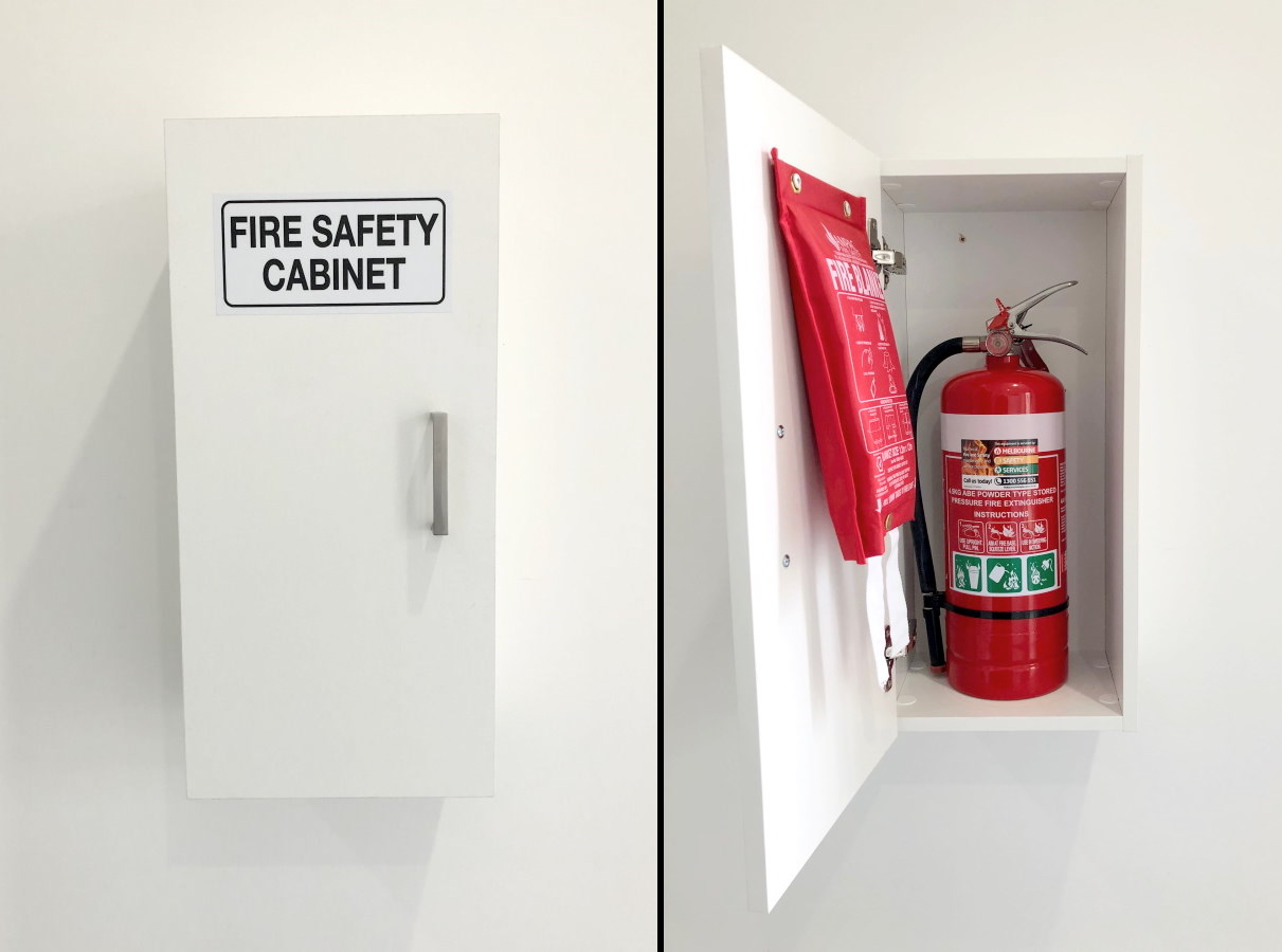 Home Fire Safety Cabinet