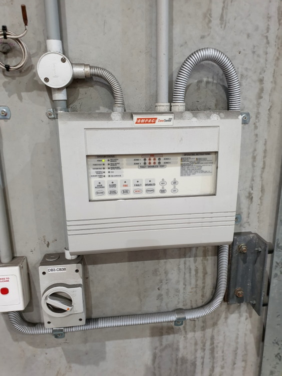 Fire Panel Detection System
